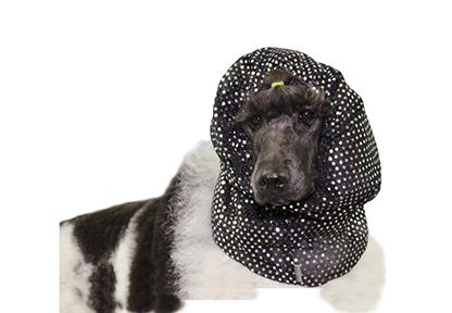 Suojahuppu, Show Tech Snood Luxe Fancy Black, Large