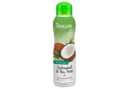 Tropiclean Oatmeal & Tea Tree Medicated Shampoo 355 ml