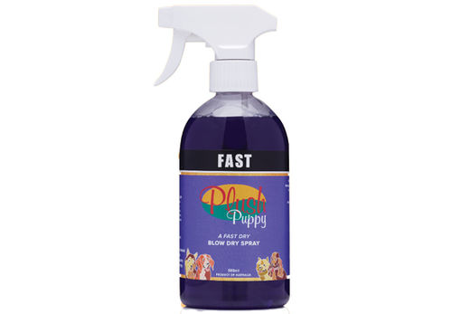 Plush Puppy Fast Blow Dry Spray 500ml