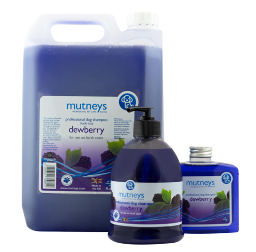 Mutneys Dewberry Shampoo 500ml – Karkeille turkeille
