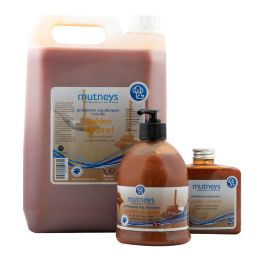 Mutneys Golden Caramel Shampoo– Ruskeille turkeille