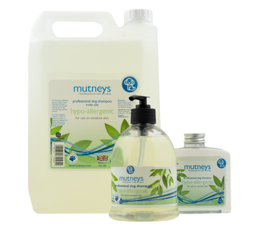 Mutneys Hypo-allergenic Shampoo – For Sensitive Skin