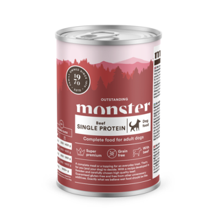 MONSTER  Dog Adult Single Protein Beef 400 g