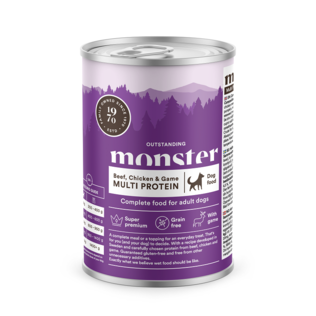MONSTER  Dog Multi Protein Beef/ Chicken/ Game 400 g