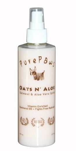 Pure Paws Oats N Aloe Spray