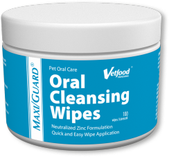 Maxiguard oral cleansing wipes
