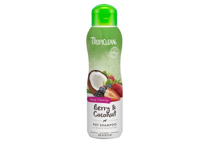 Tropiclean Berry & Coconut Deep Cleaning Shampoo 355 ml