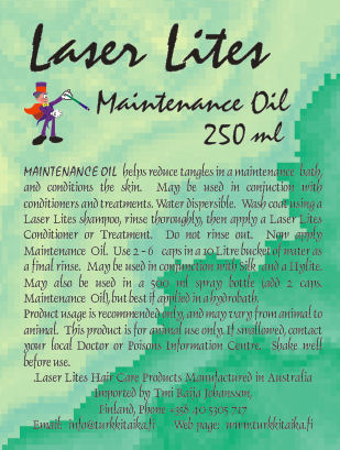 Laser Lites Maintenance Oil (250ml)